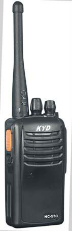 Factory cost UHF/VHF portable ham radio KYD 5-10km NC-530 with pc programmable 199 channel