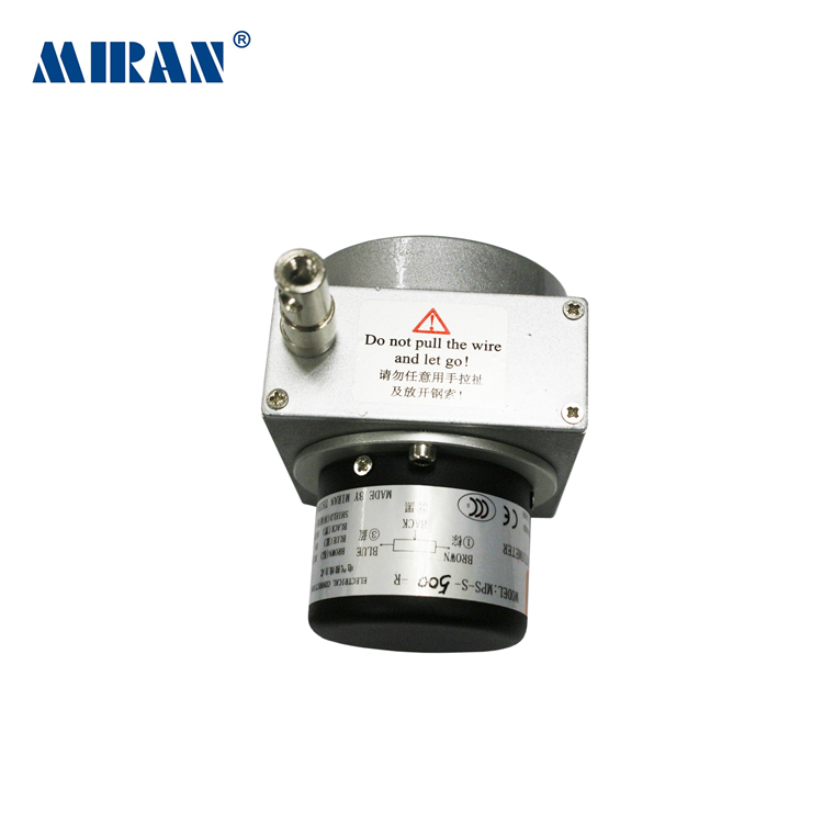 MIRAN MPS-L-A Linear String Potentiometer Analog Output Signal-Output-4-20MA-Linear-Wire Position Sensor