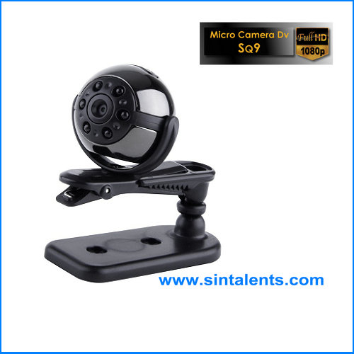 Full HD 1080P mini dv camera, 360 degree rotation cctv camera
