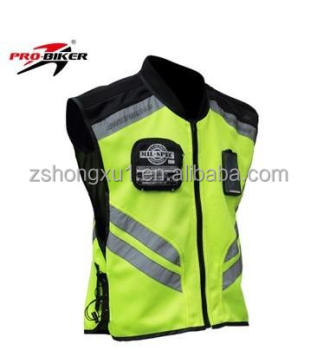 Racing Team Jackets Sleeveless Motorcycle Riding Jacket