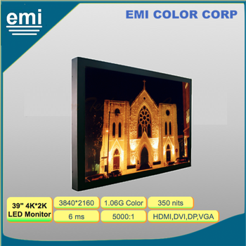 39 inch 4K Ultra HD LED Display Monitor, for Advertising Signage