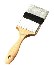 Best quality soft nylon wire bristle paint brush with natural wood handle
