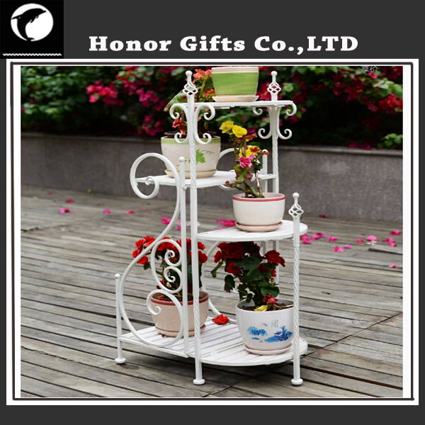 Unique Metal Stand Flower Pot Wire Flower Pot Holder