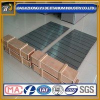 More than 99.95% ASTM B386 molybdenum plate