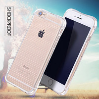 Taoyaun Clear Transparent Crystal Soft TPU printing mobile phone custom case for iphone 6 case