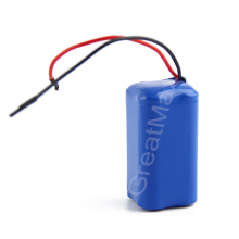 Rechargeable 2S2P 18650 4400mah li-ion battery for tablet pc 7.4v
