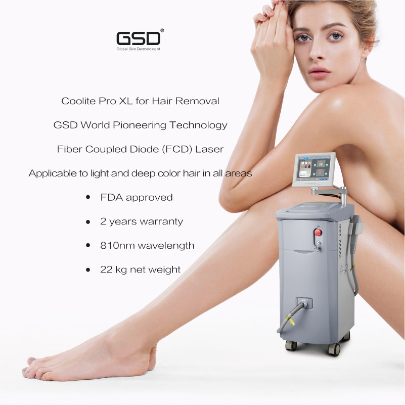 Hand laser scar removal machine hair removal machine