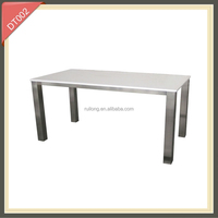 Cafe Restaurant Kitchen Home Cheap Glass Dining Table And Chair