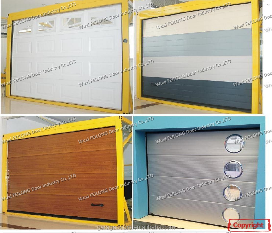 Automatic Sectional Garage Door --- Different Available Color with EURO Quality Certificate