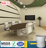 Safe Spray and High Quality Wall Coating for Office