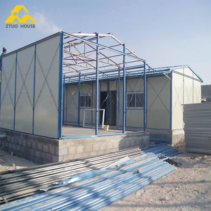 prefab steel temporary building/construction labor camp