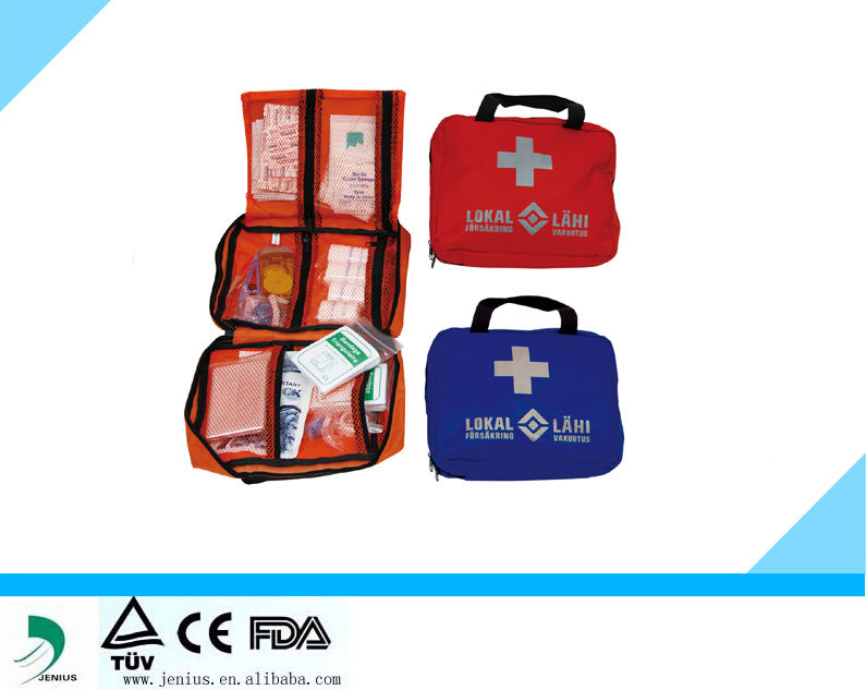 Emergency Camping Survival First Aid Kit Pack Treatment Bag Travel Medical adventure Bag kit