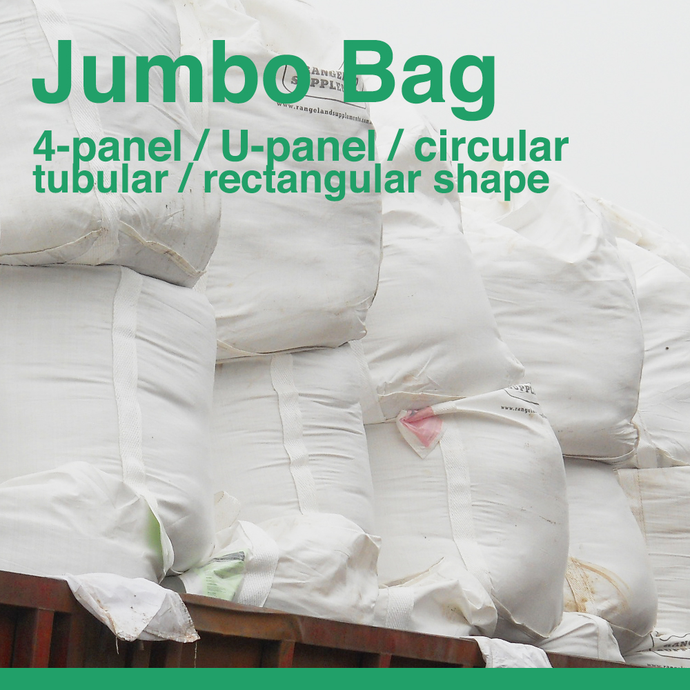 Recycle Used PP Jumbo Bag For 1 Ton