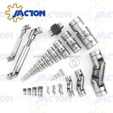 High precision single joint universal coupling shaft U cardan joints for steering auto cars
