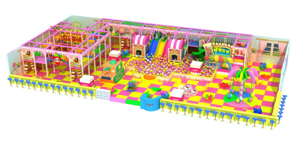 2016 kids happy land indoor playground for toddler play