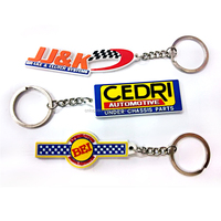 2016 Custom Promotional gift rubber keychain