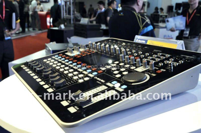 Professional C-mark digital echo karaoke mixer CDM12 with 20 scene setting
