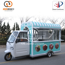 China Mobile Food Cart and Food Vending Stall design trailer for sale