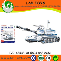 LV0143438 Paper 3d puzzle tank toy kids games