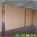 Movable office partitions operable partition with different finish choice