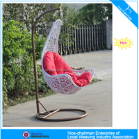 U Outdoor garden furniture wholesale hanging chair (CF1431H)