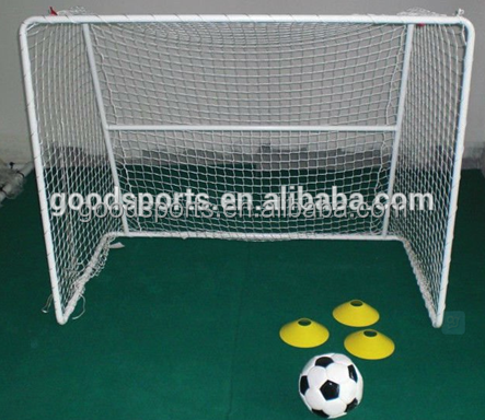 high quality of mini soccer goal with white coating