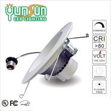6 inch ra 90 2700k 15w cob led downlight, downlight led light shenzhen price low,led can light yunsun hot sale products