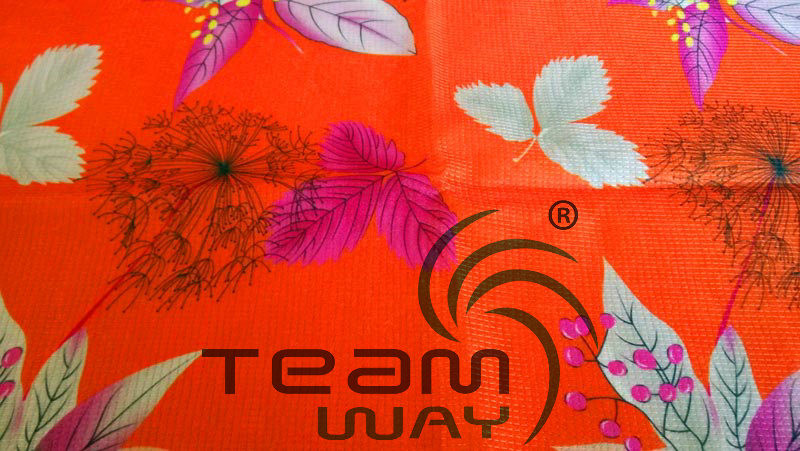 Printing Service for 14 Gauge Polyester Stitch Bond Fabric