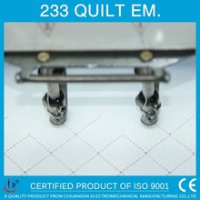 233 33 heads embroidery applique cutting machine german,bed sheet embroidery machine