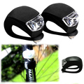 Silicone 3 Modes Bicycle Light Bike Tai Light Warning Cycling Rear Light Colourful