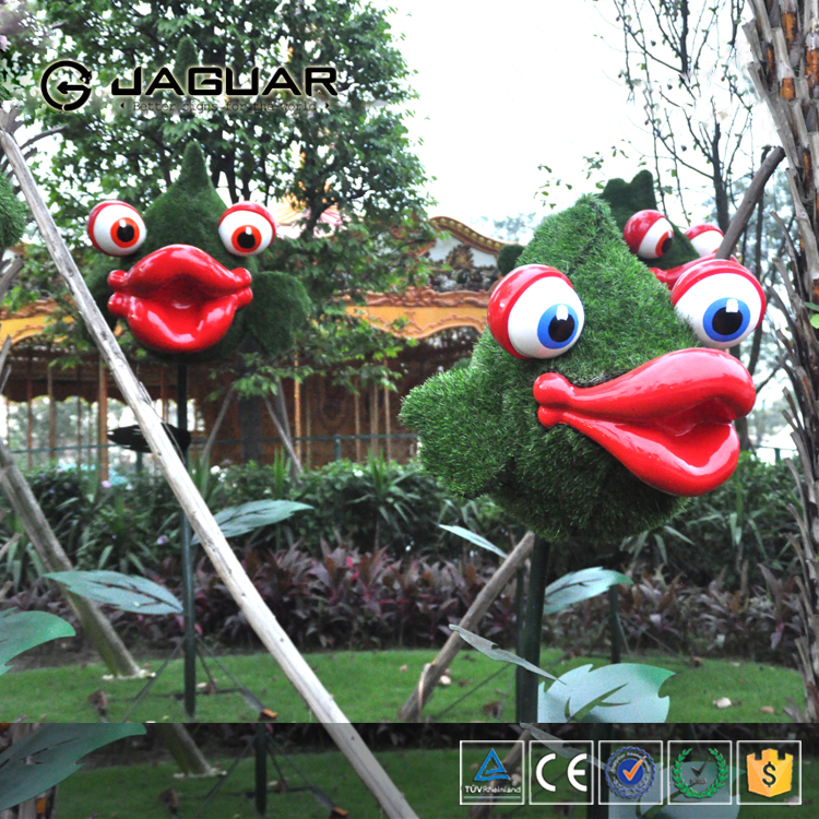 Factory outlets garden ornaments decoration wire animal topiary frames
