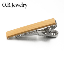 High Quality Wood Tie Bar Make Your Own Tie Clip