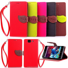 Luxury PU Leather Card Slot Stand Flip Cover Case Skin for WIKO Phone