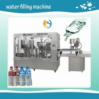 water bottle capping machine/plastic mineral water bottle making machine
