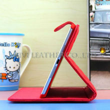 2013 new products belt clip leather protective case for ipad mini,