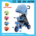 high quality tricycle new baby tricycle with luxury suspension and 360degree rotated seat