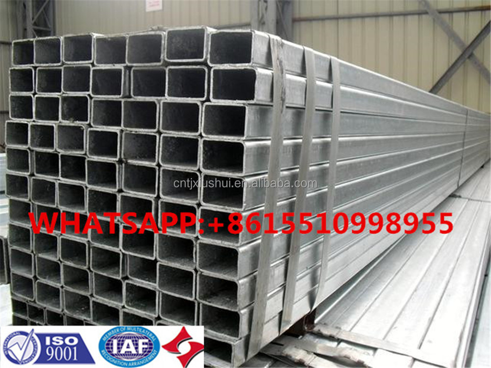 FACO GI RHS ! a53 galvanized tube gold supplier galvanized square steel tube frame