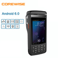 4 inch data terminal industrial rugged wireless thermal printer pda