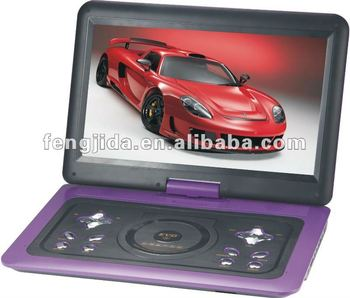 15.6 inch portable and home dvd player support TV Radio USB Game