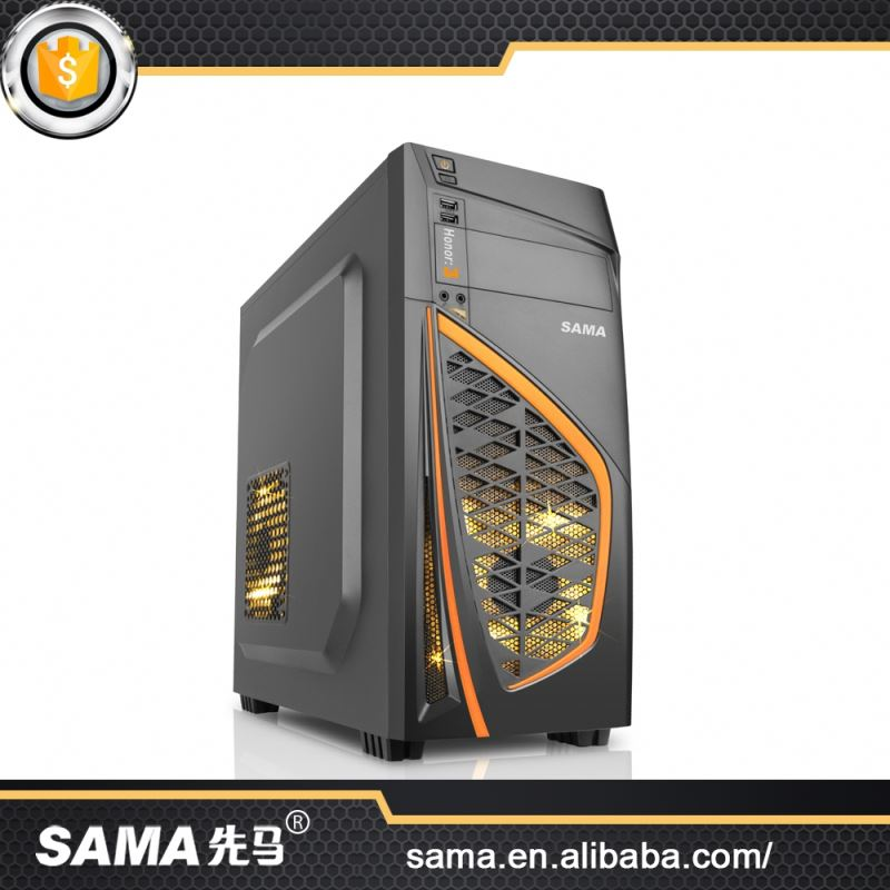 SAMA Good Design Cheaper Price New Clear Gaming Computer Enclosure