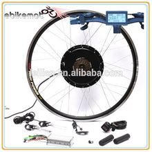 Rear Wheel 48V 1000W Brushless hub motor/ Electric Bicycle Motor Kit E-Bike Cycling Hub Conversion Kit With Controller