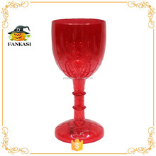Red wholesale Halloween LED plastic flashing cup
