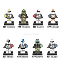 632 XINH Star series mini commander figures wars building blocks toys compatible
