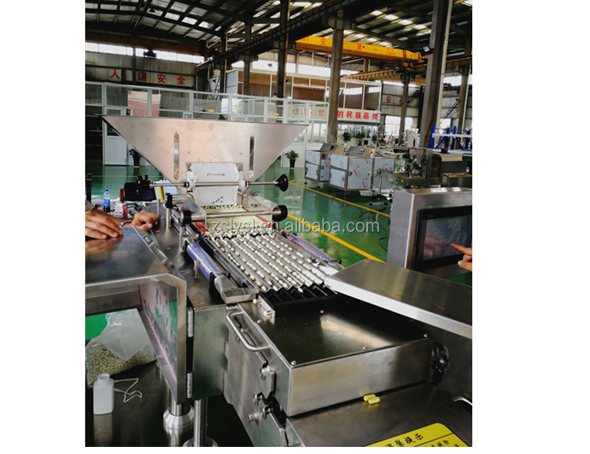 automatic electronical capsule and tablet counting and filling machine