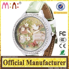 Fashion lady watch korea min watch waterproof unique quartz wrist vogue watch