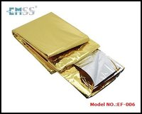 Aluminum foil outdoor heated insulation blanket