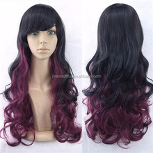 extra Soft silky Crazy Wig Long Straight Synthetic hair