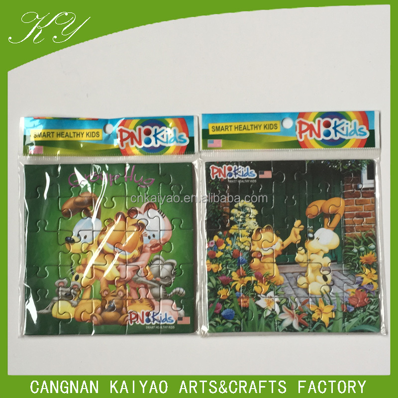 OEM Custom Mini Jigsaw Puzzles For promotion Gifts
