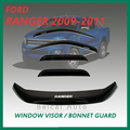 JDM Vent Window Visor 4pc Wind Deflector Fit For JDM Vent Window Visor 4pc Wind Deflector Ford Range 99-07 08 09 10 11 Super Cab
