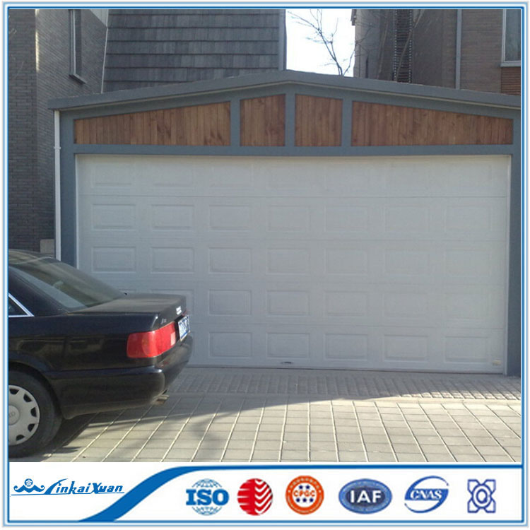 Outside Used 5 Panels Garage Door Garage Door With The
